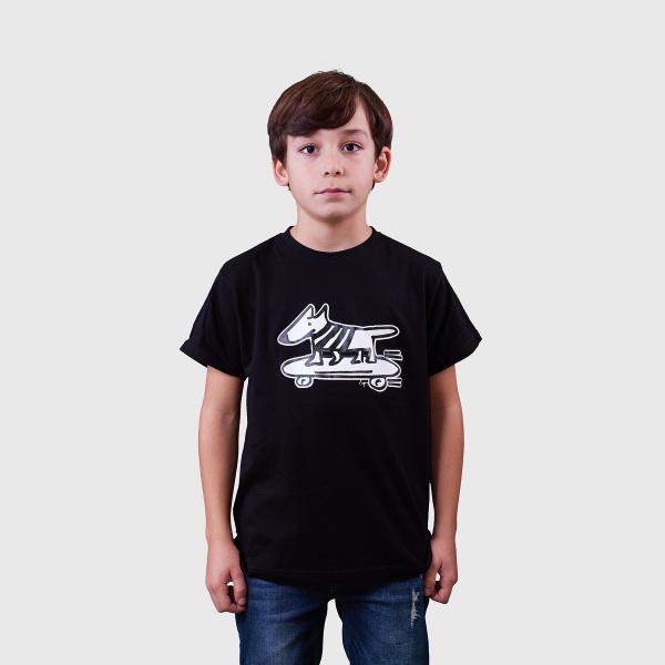 Camiseta Lupy Perro Skater