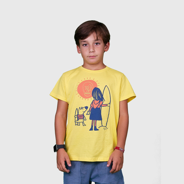 Camiseta Lupy Esperando la ola