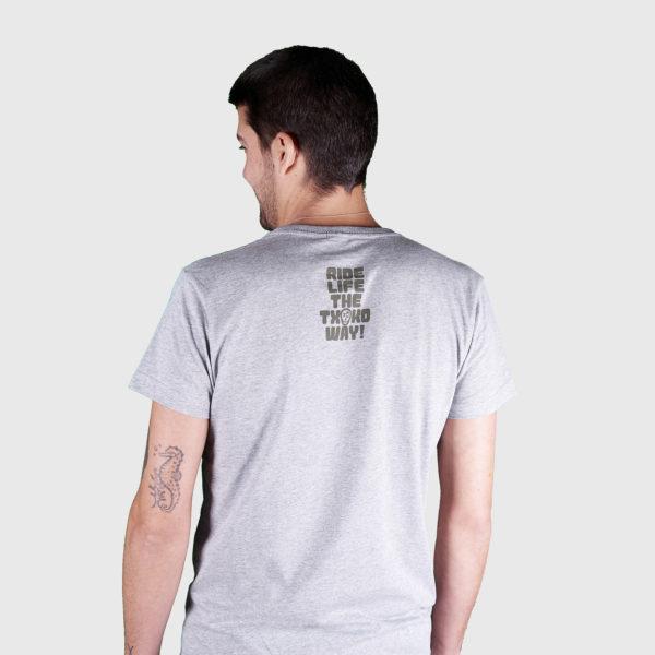 Camiseta logo listado